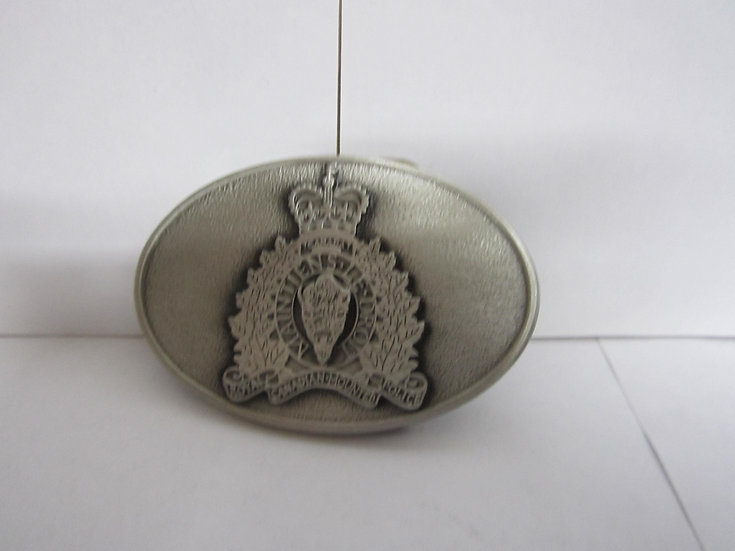 RCMP Belt Buckle