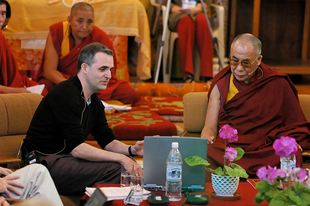 Эван Томпсон и Далай-лама