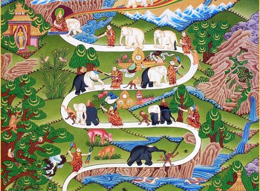 «Путь слона»: развитие концентрации в махамудре