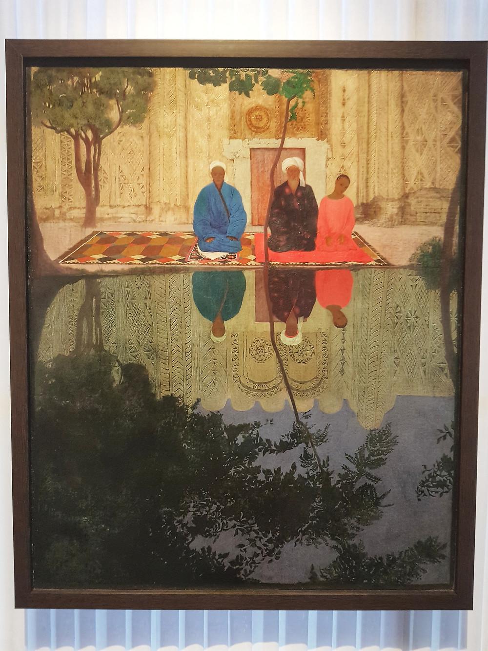 Даниил Степанов, «Молитва, Самарканд» (1925)