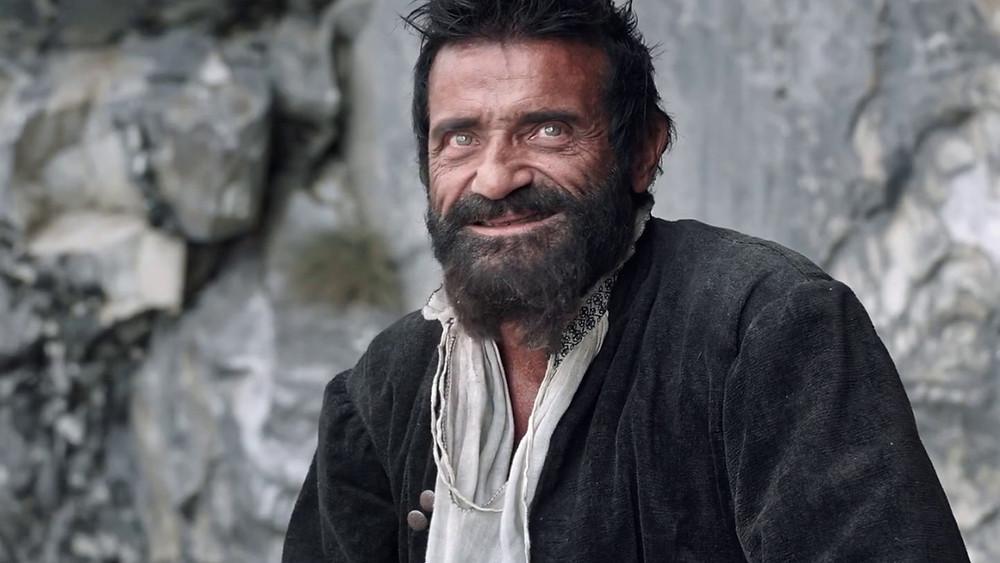 Микеланджело в исполнении Альберто Тестоне (к/ф «Грех» Андрея Кончаловского)