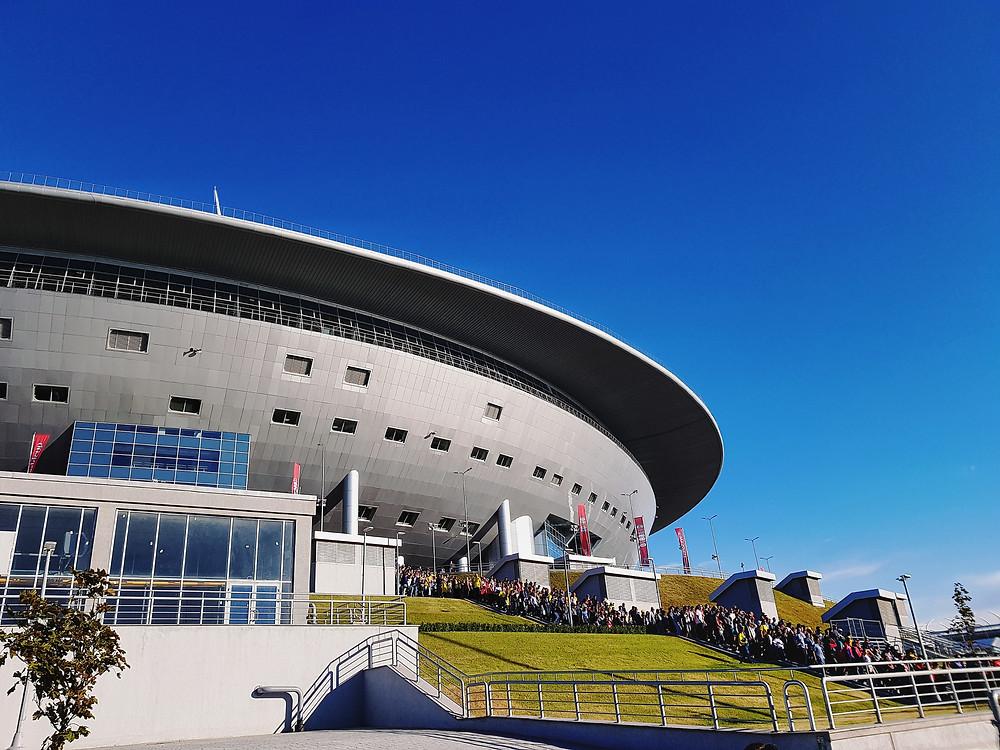 «Зенит-Арена» («Газпром-Арена») на Чемпионате мира 2018. Стадион «Зенита». Фото © Е. Пустошкин