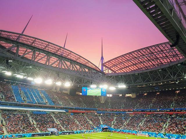 Стадион «Санкт-Петербург». Матч Россия — Египет (3:1). Фото © Евгений Пустошкин