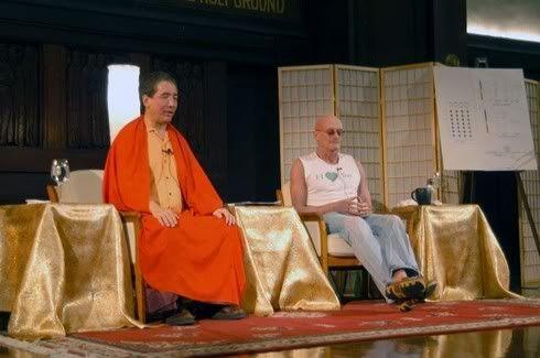 Тралег Кьябгон Ринпоче и Кен Уилбер в диалоге: сессия медитации (Тибетский Дом, Нью-Йорк, 8–10 сентября 2006)