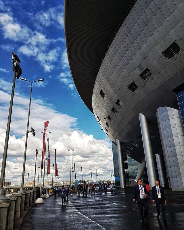 Стадион «Санкт-Петербург». Чемпионат мира по футболу 2018. Фото © Евгений Пустошкин