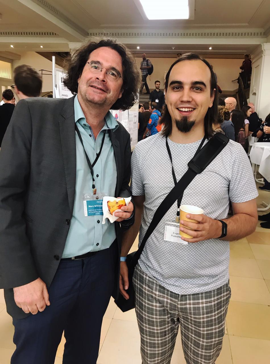 Марк Виттманн и Евгений Пустошкин на конференции INSIGHT 2019