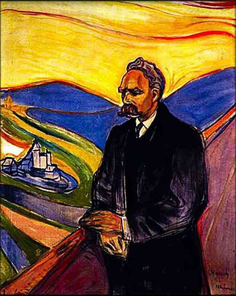 Фридрих Ницше (Мунк)
