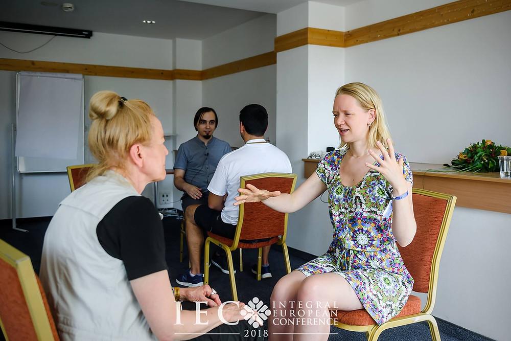Интегральная медитация (воркшоп на Интегральной европейской конференции 2018)