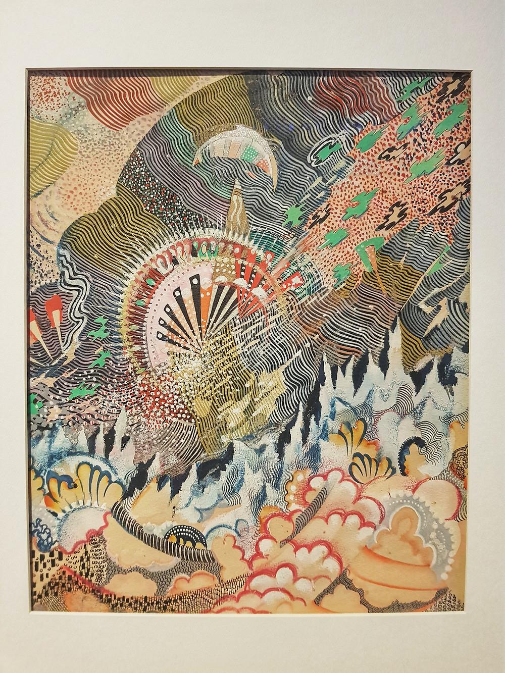 Александр Сардан, «Симфония космоса» (1925)