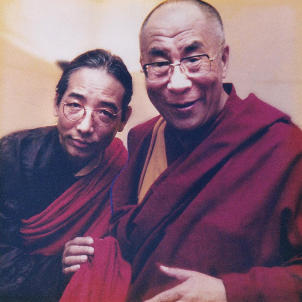 Тралег Ринпоче и Далай-лама