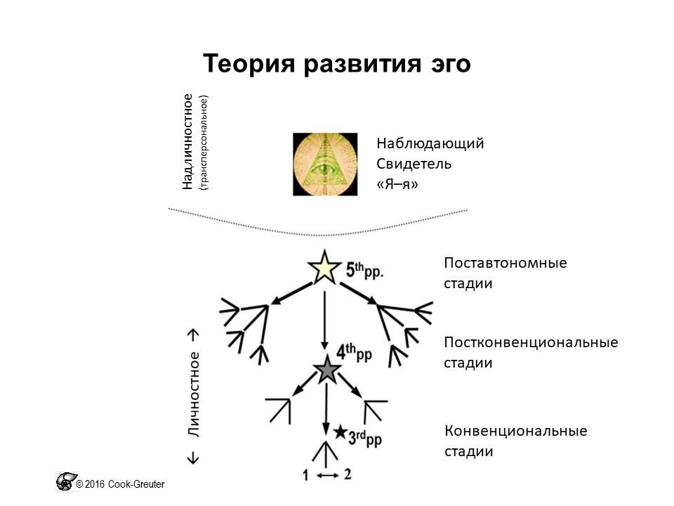 Сюзанна Кук-Гройтер. Теория развития эго: модель расширения перспектив (перспективы первого лица, второго лица, третьего лица, четвёртого лица, пятого лица)