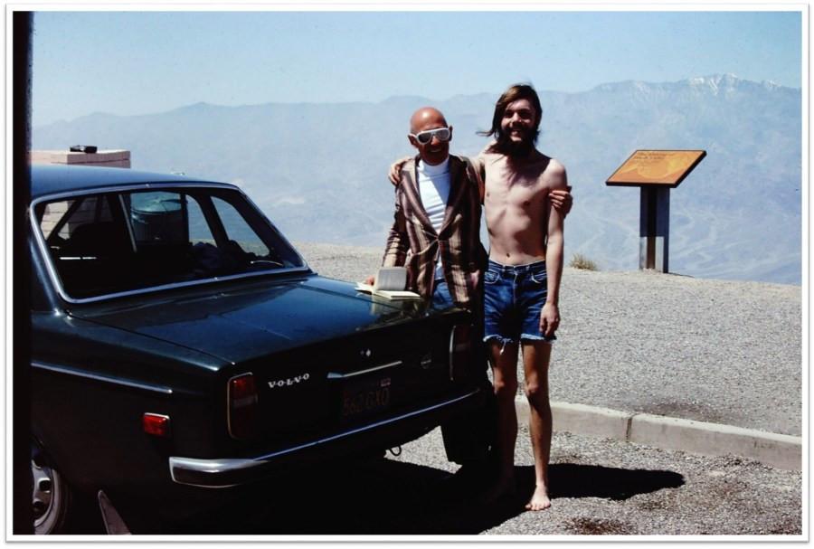 Мишель Фуко и Майкл Стоунман в Долине Смерти (1975)