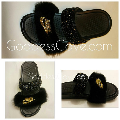 Fur & Bead Nike Duo