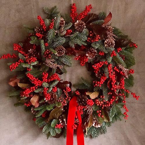 'You've Been Berried ' Christmas Wreath