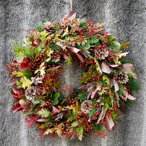 'Very Berry' Christmas Wreath