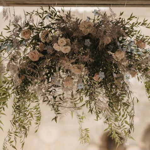 Wedding Flowers Ceiling Decorations