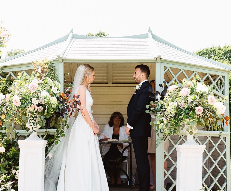 Wedding Flowers Urns Pedestals