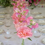 Wedding Flowers Table  Centrepieces