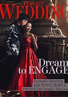 Lydie Dalton Floral Design in Perfect Wedding magazine