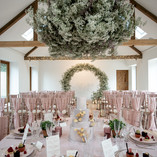 Wedding Flowers Arch and Floating Installation
