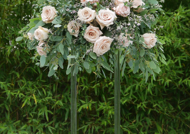 Wedding Flowers Tall Table Centrepiece