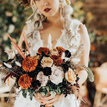 Autumn Themed Wedding