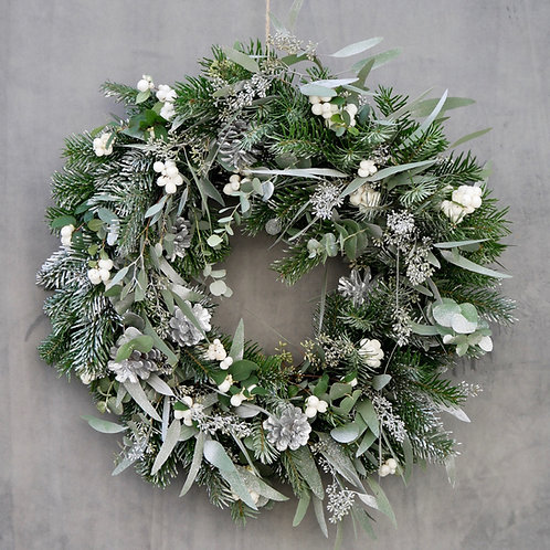 'Ice Queen' Christmas Wreath