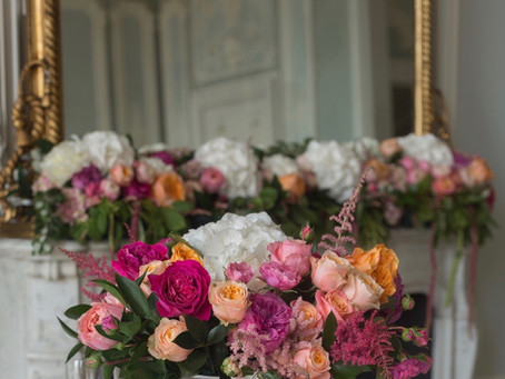 Your wedding flower planning - a special moment in the lead up to your wedding