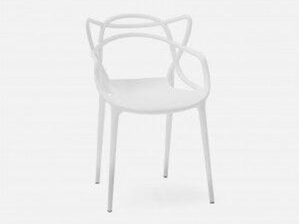 POLLY WHITE DINING CHAIR