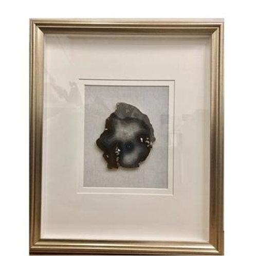 Gold Framed Geode Art