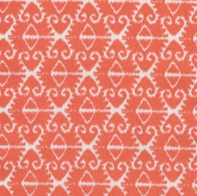 Spa Ikat in Coral