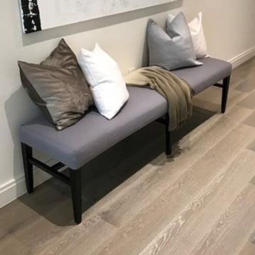 Gray w/ Brown Bench