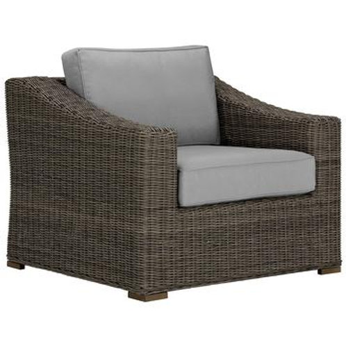 Weaved Outdoor Accent Chair Set of 2