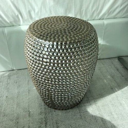 CHAMPAGNE CERAMIC ACCENT TABLE