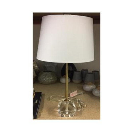 Gold w/ Crystal Base Table Lamps Set