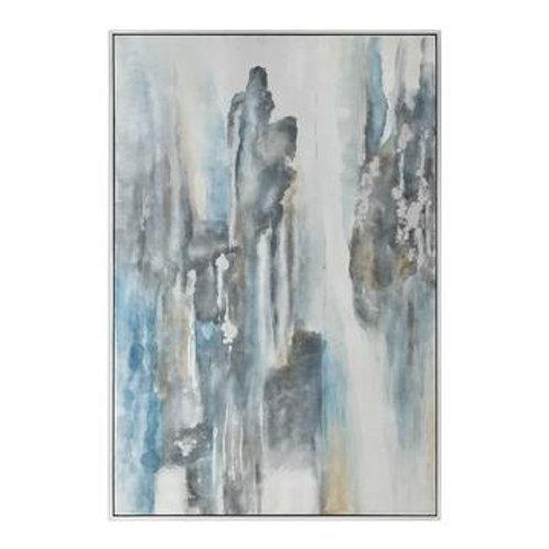 Blue Gray Canvas Art