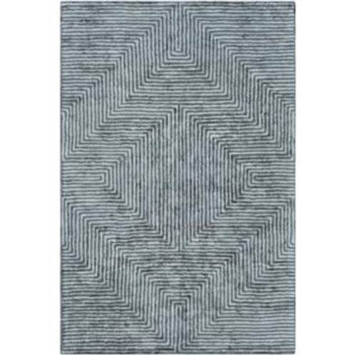 Square Green 8' x 8' Rug