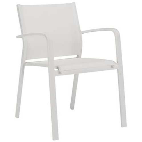 White Outdoor Dining Chairs Set of 4