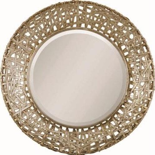 Gold Weave Mirror