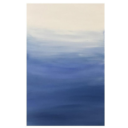 BLUE AMBRE CANVAS ART