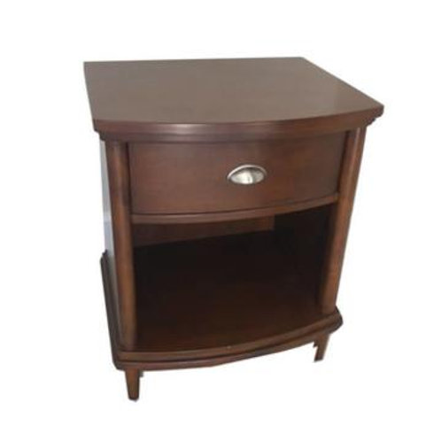 Brown One Drawer Accent Table