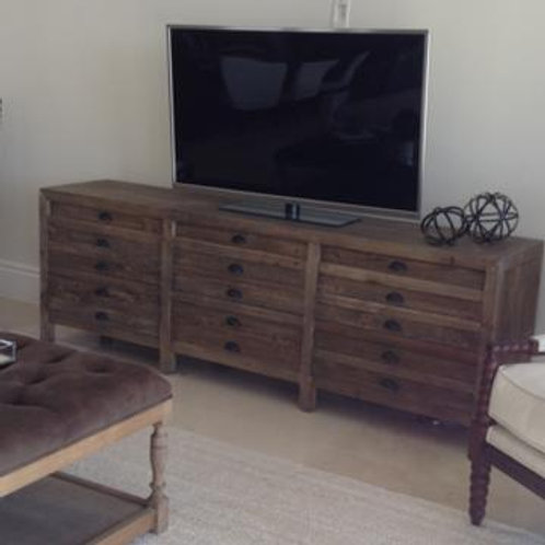 RH Brown Printmakers Console