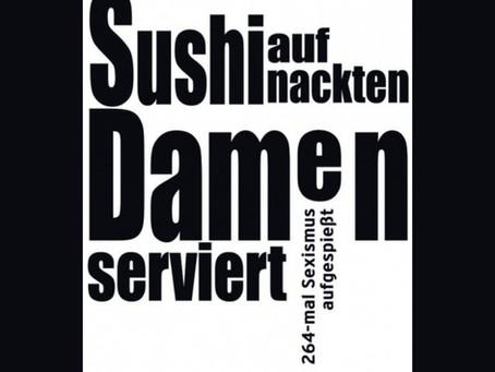 Sushi auf nackten Damen serviert von Gisela Pravda