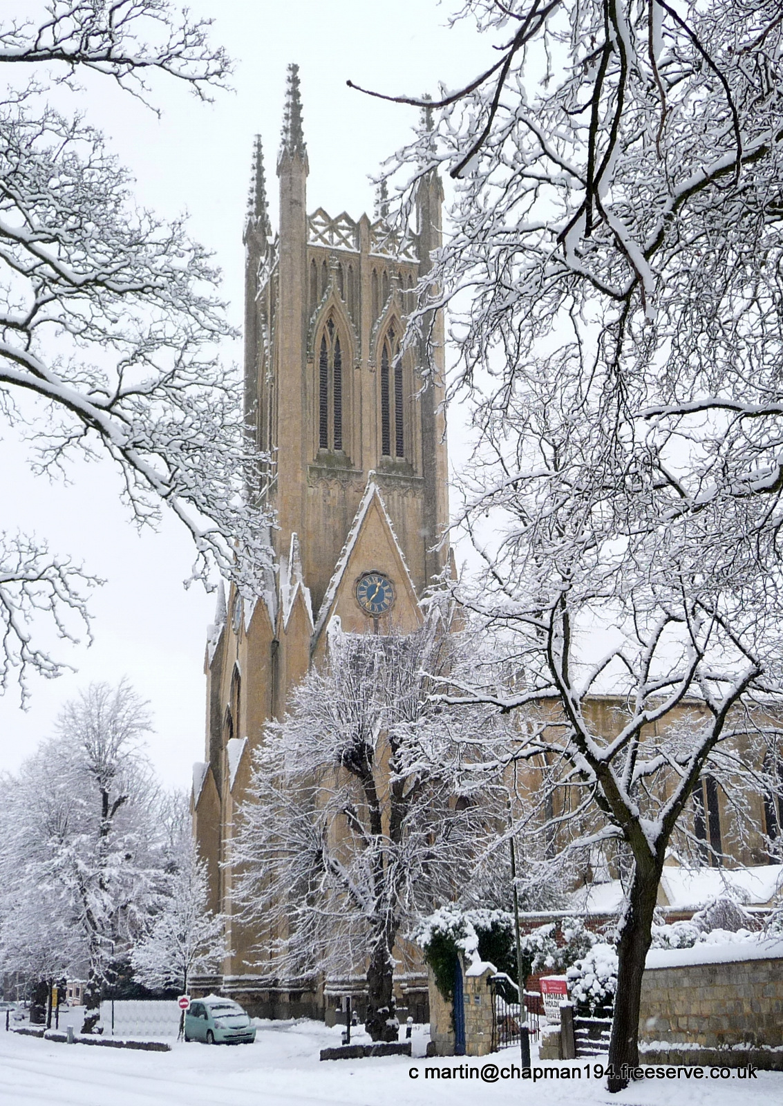 2011 Church in Snow by MHC