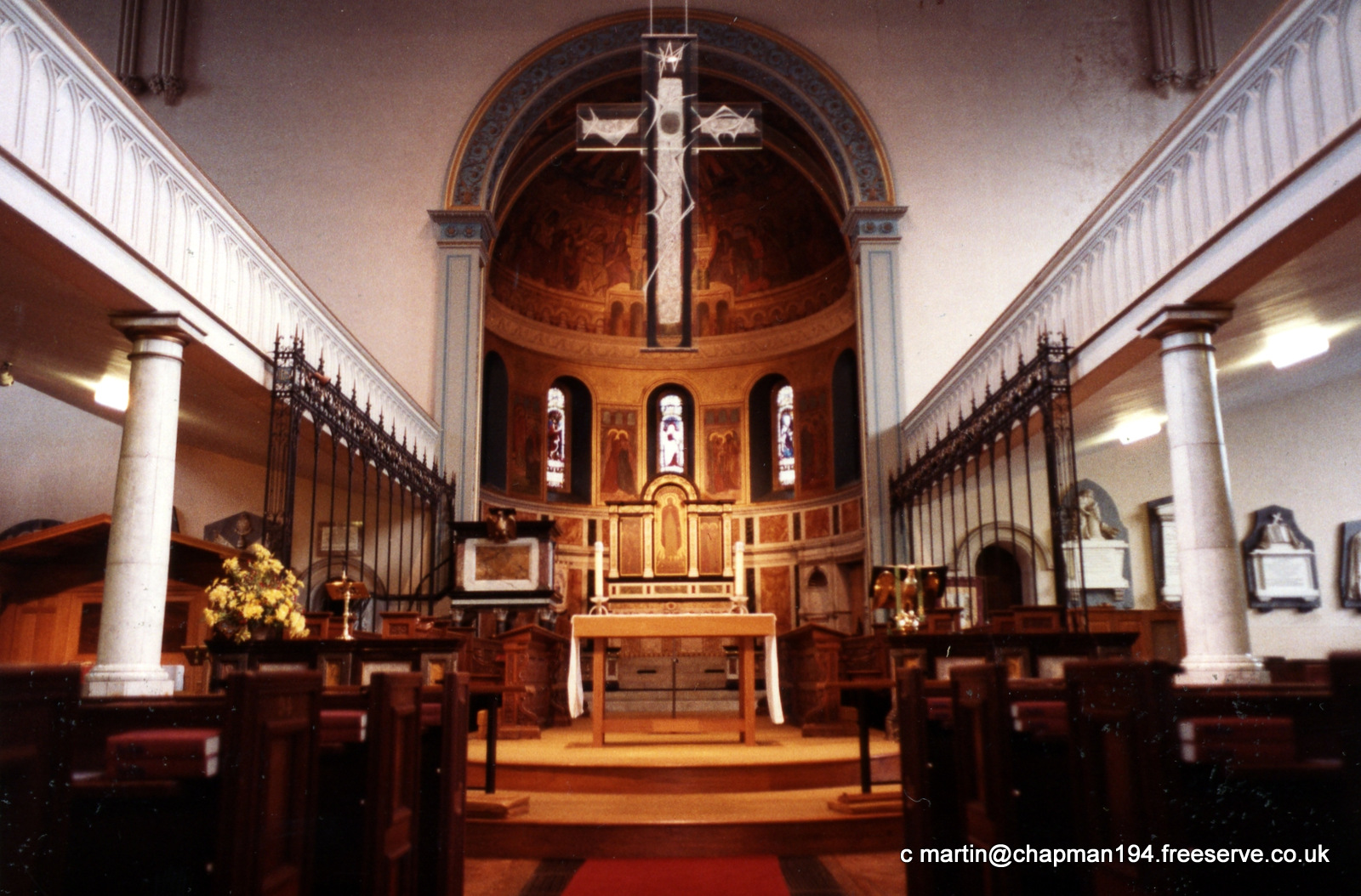 1985 Church Interior after reordering
