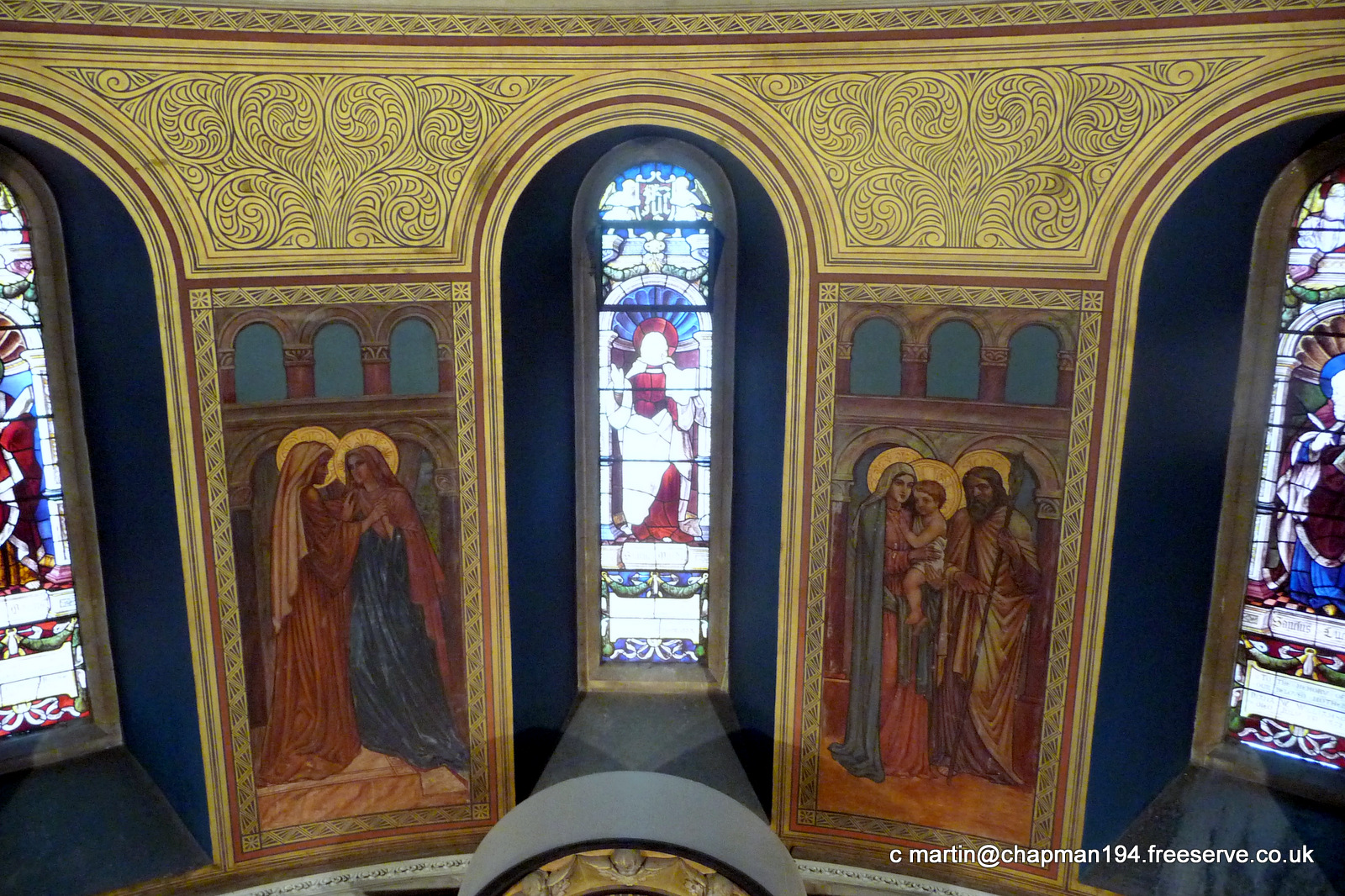 2011 Apse Frescoes by MHC