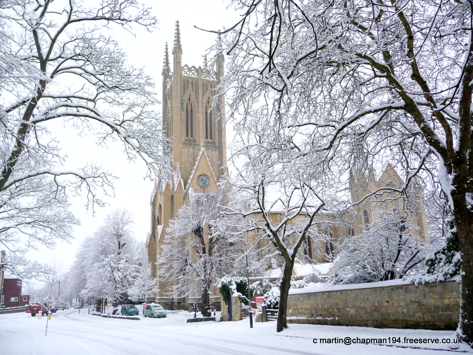 2010 Jan Church in Snow 1 by MHC