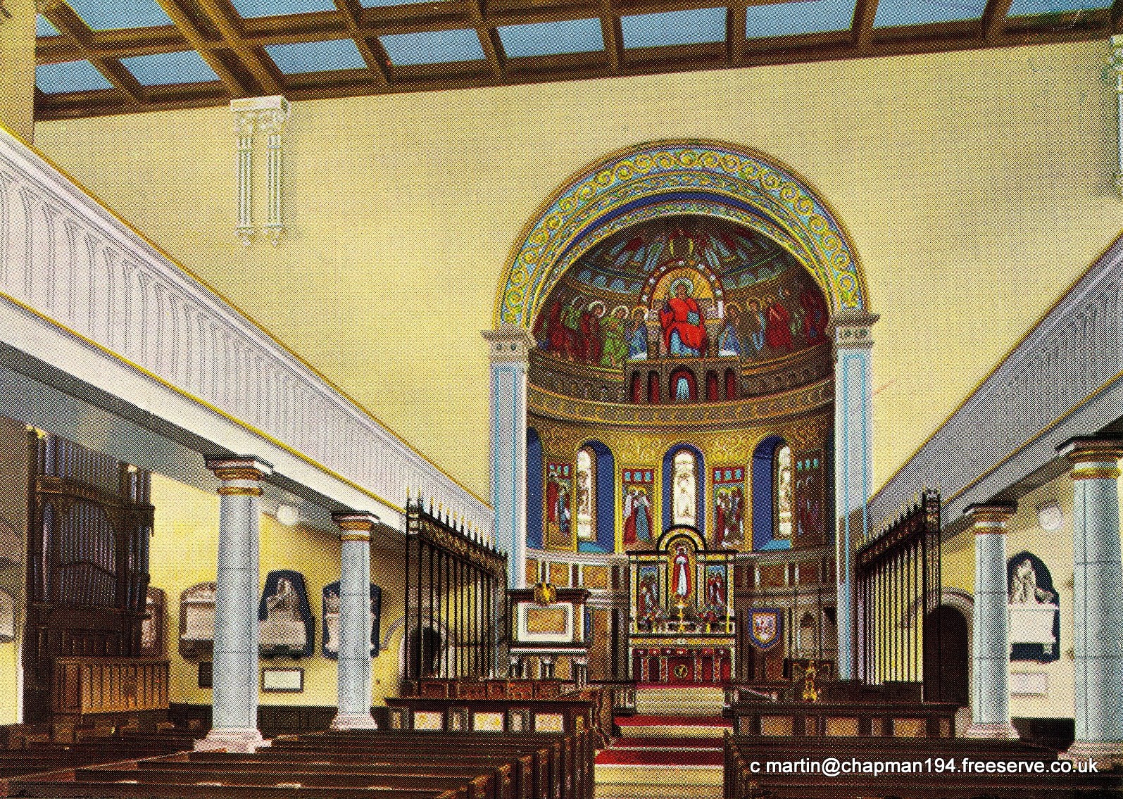1957 Redecorated Church Interior