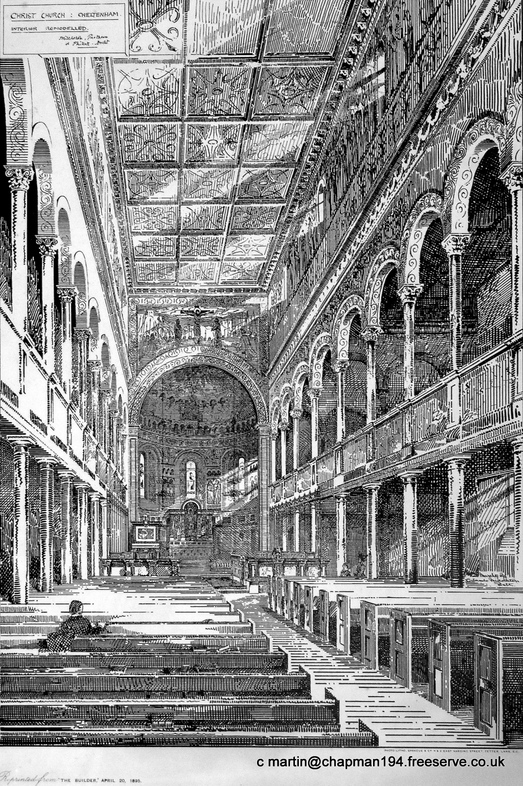 1895 Proposed Interior Scheme