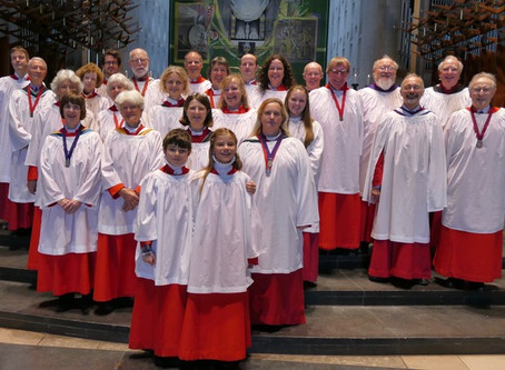 Choir at Coventry Cathedral